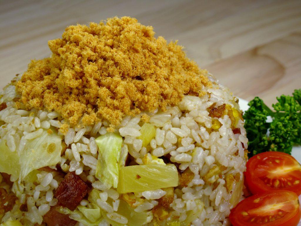 旗魚鬆拌鳳梨炒飯