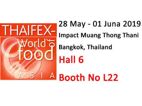 參加2019 泰國食品展(THAIFEX)