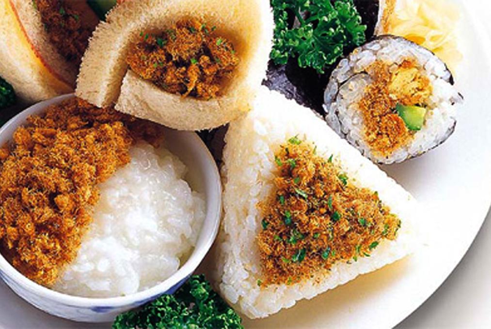 方便的美味 肉鬆、魚鬆食譜